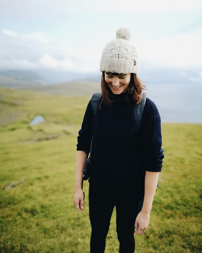 Jo Tinsley in the Faroe Islands
