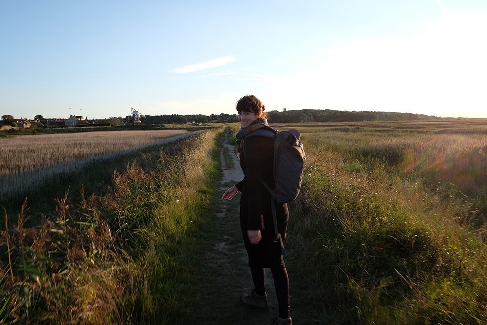 Exploring The Fens in Norfolk in the Lake District and hiking