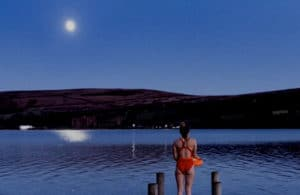 Full moon night swims on Ullswater throughout the year.