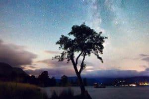 The Lyrid Meteor Shower
