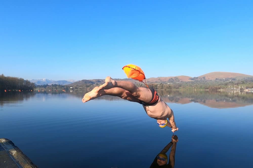 Diving into Ullswater