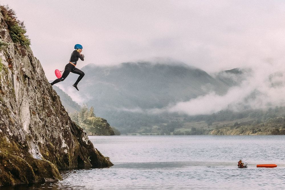 Jump into Ullswater