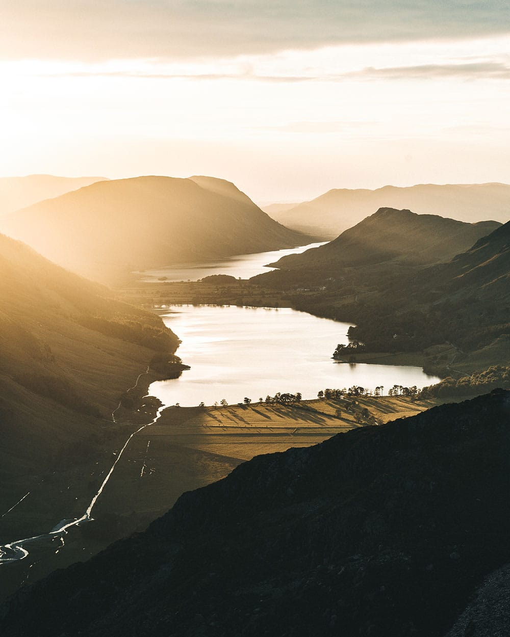 Sunrise in the Lake District
