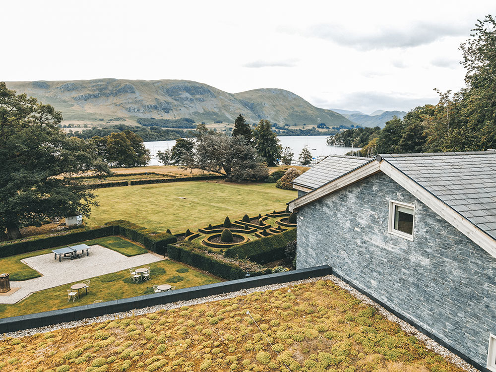 Ryam Lomas photogrpah of the view from the hotel over Ullswater