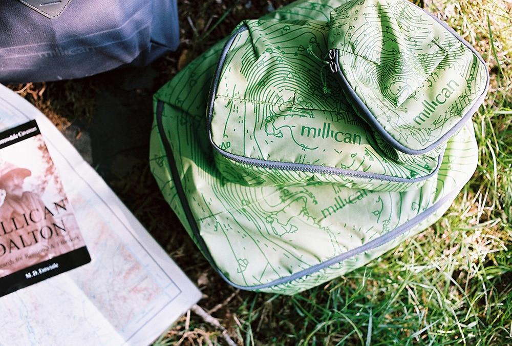 Millican Dalton book and bag