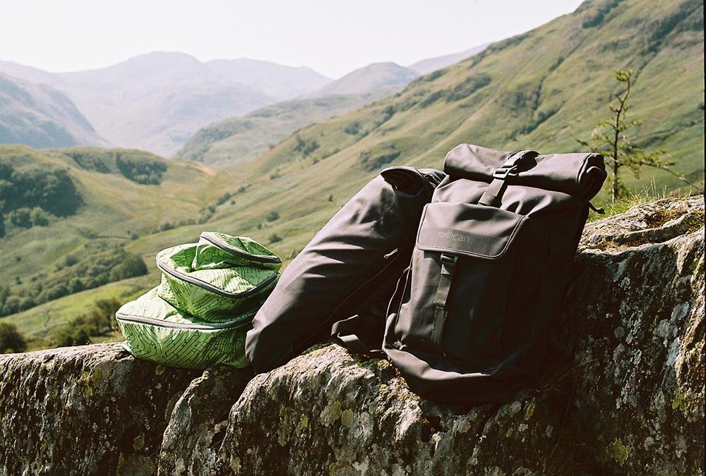 Millican rucksacks for hiking