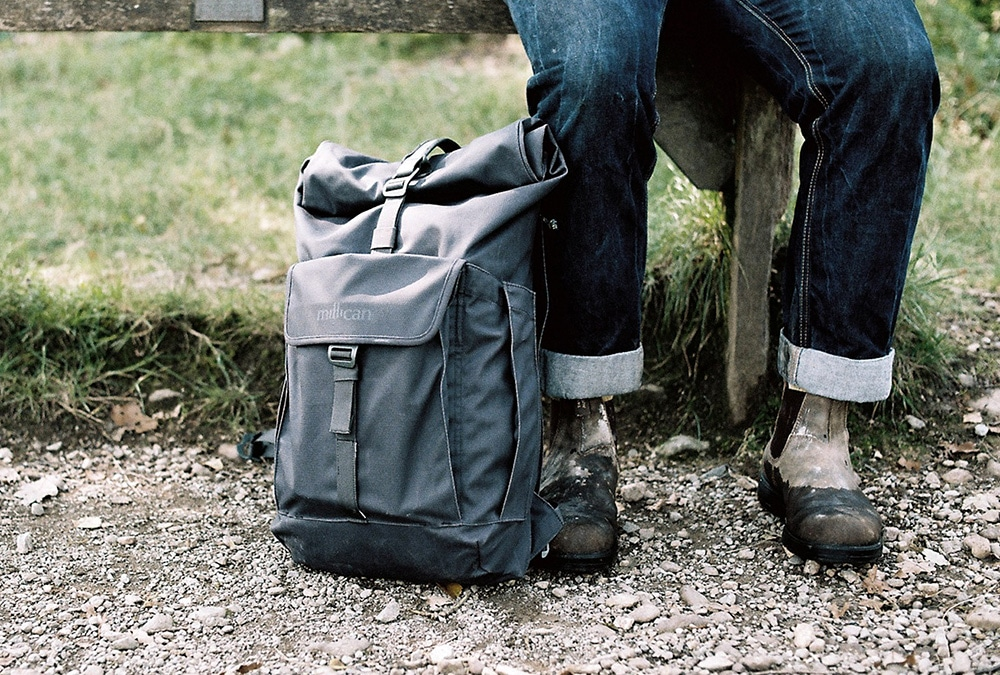 lake district hiking with millican bags