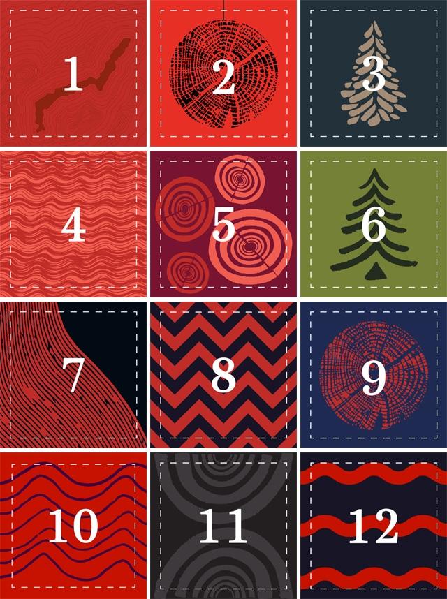 Twelve Days of Christmas competition calendar
