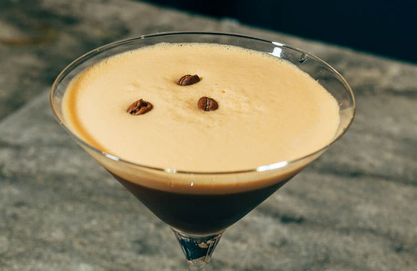 espresso martini available at the another place restaurant