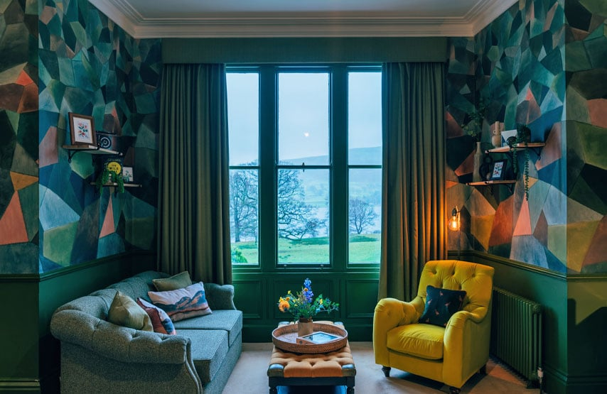 The ullswater suite hotel bedroom