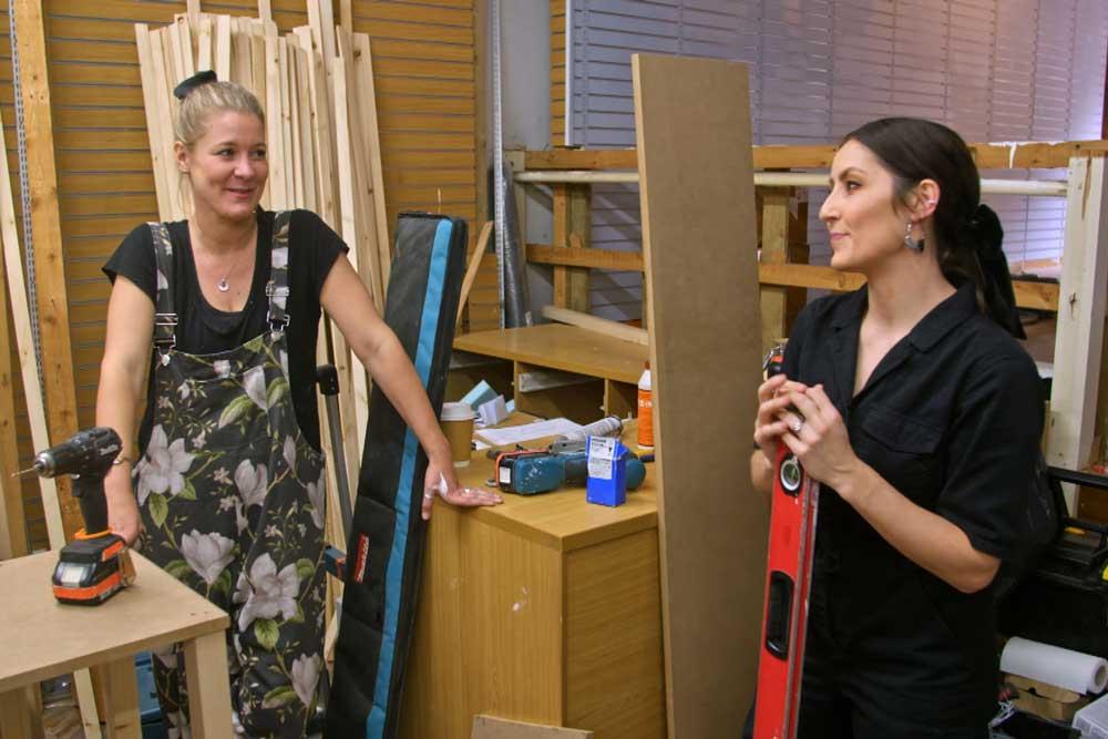ullswater interior design masters working inside