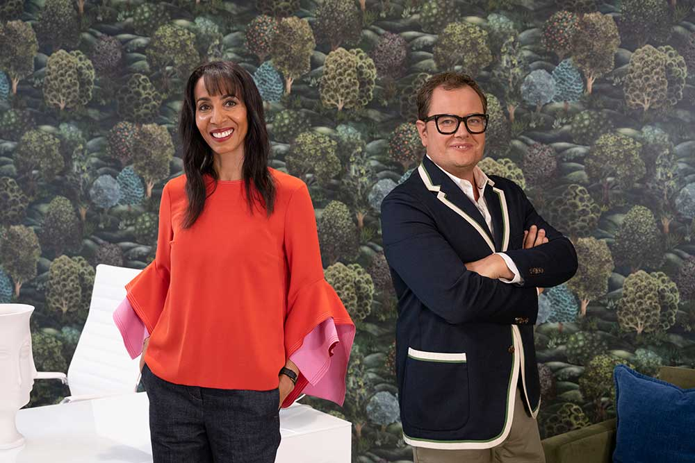 hosts of interior design masters UK hosted at the another place hotel