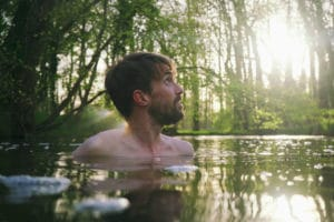 On floating with Joe Minihane