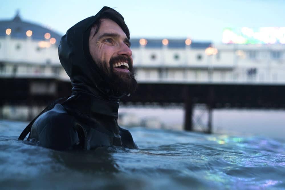 Joe Minihane sea swimming