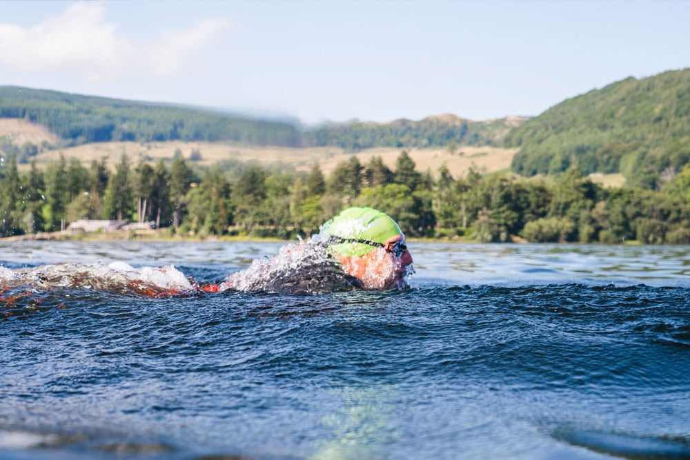 Swim across Ullswater with Colin Hill as your guide