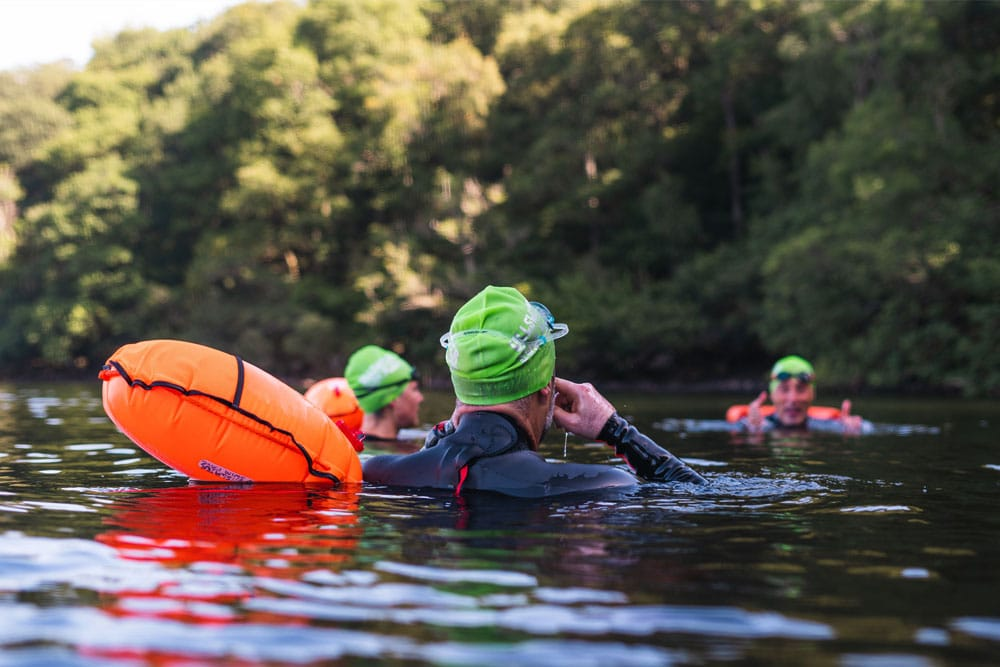 Introduction to wild and open water swimming with swim coach Colin Hill